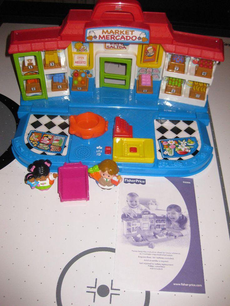 Uyw1Ji - Fisher Price Little People Shop'n Learn Market ...
