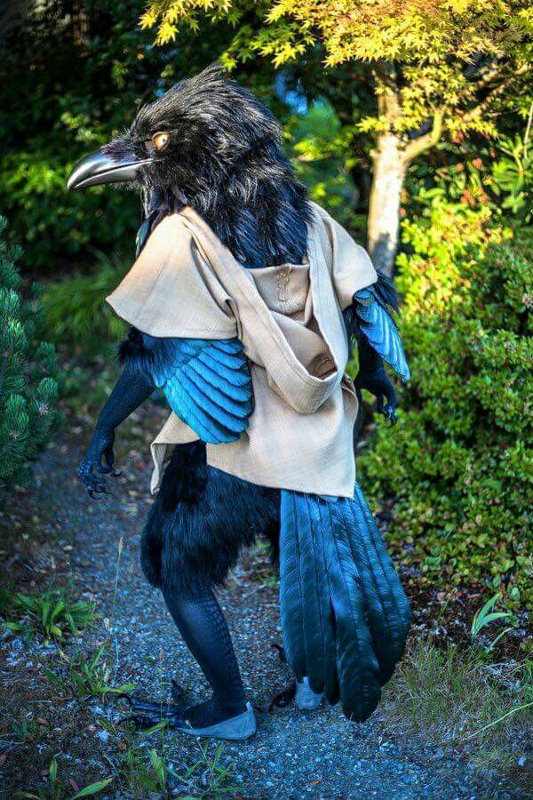 Avian suit #larp #costume I dont know who to credit for this creation, please share! Awesome !