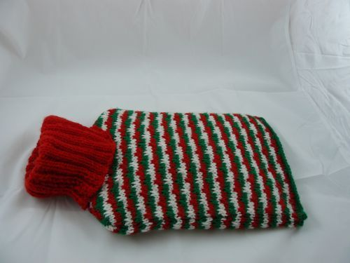 Mia Hot water Bottle Cover | knitted hot water bottle cover | Free Knitting Patterns | Nixneedles UK
