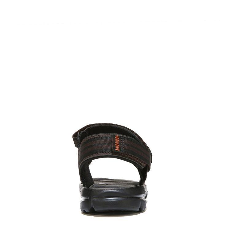 New Balance Men's Plush 2.0 Rafter Medium/Wide Sandals (Brown/Orange) - 13.0 M