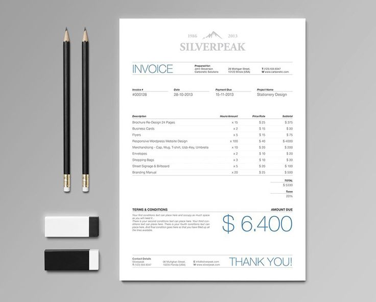 10 best creative invoice billing images on Pinterest Invoice - invoice creation