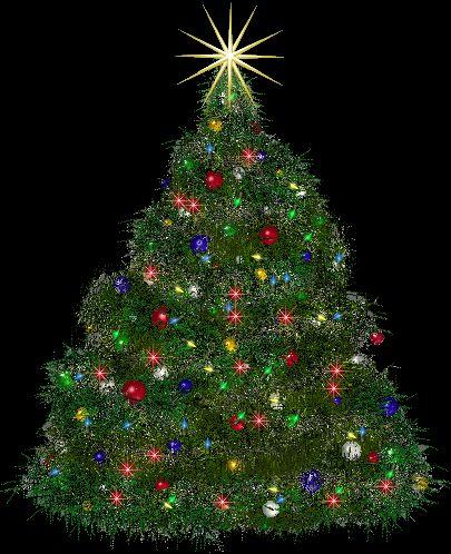 Christmas Tree Animation Background Aa Vfx