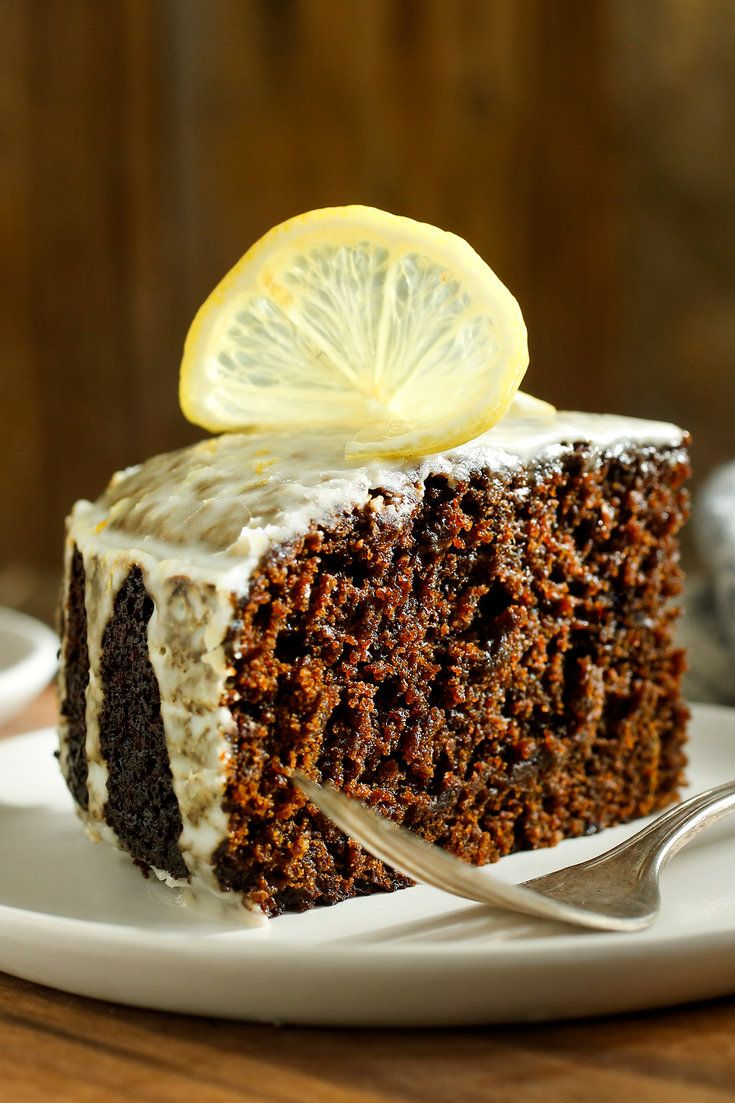 This dark, deeply moist, gingered beauty was created by Karen DeMasco, the pastry chef at Locanda Verde in New York Beer and coffee add complexity, and the tangy lemon glaze counters the sweetness.