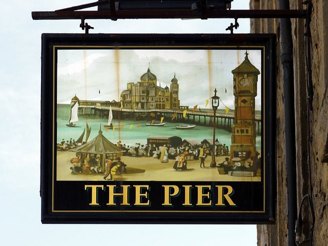 """The Pier"", Morecambe, Lancashire"