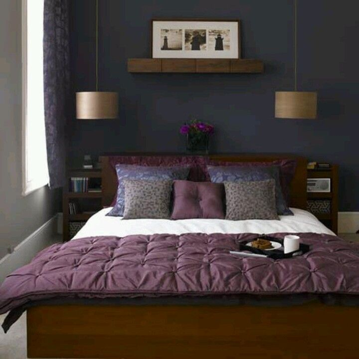 Functional small master bedrooms: Decor, Small Bedrooms, Dream, Wall Color, House, Master Bedroom, Bedroom Ideas