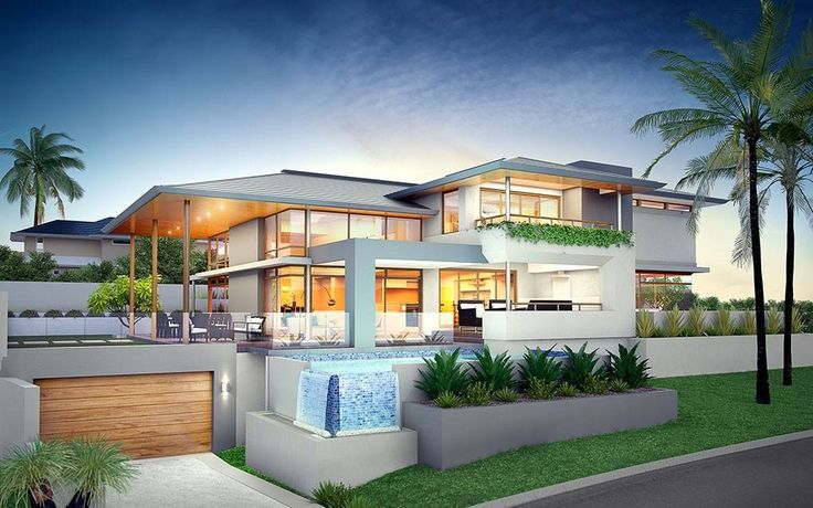 Inspiration architecture pinterest inspiration - Residence principale de luxe kobi karp ...