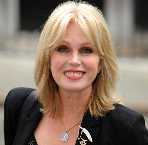 Joanna Lumley - she really is absolutely fabulous - as an actress and person