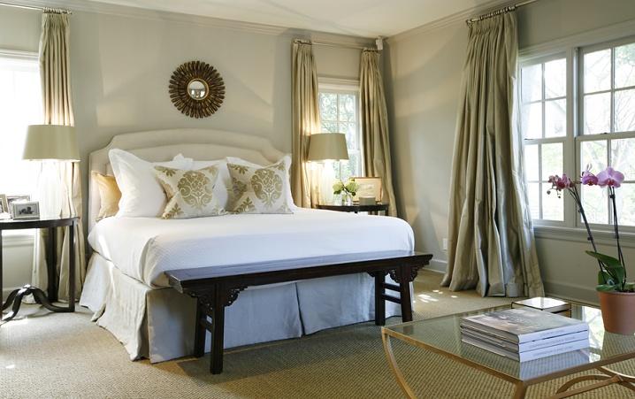 Ecclectic bedroom design Ashley Goforth