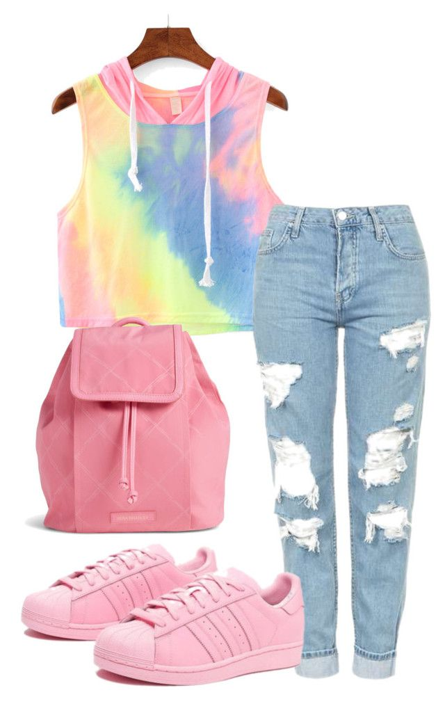 """""""iffy..."""" by shaka05khia on Polyvore featuring Topshop, adidas Originals and Vera Bradley"""