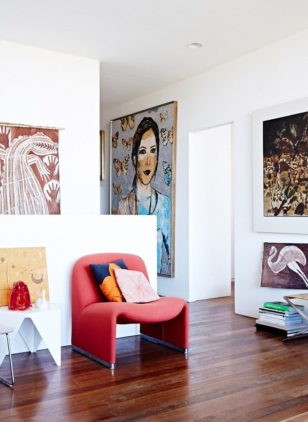 The Sydney home of Louise Olsen, Stephen Ormandy and Family. Photos by Sean Fennessy. Production by Lucy Feagins for thedesignfiles.net