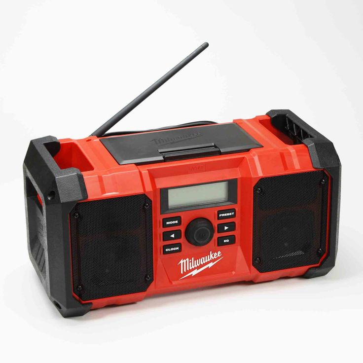 2890-20 Milwaukee Tool Construction Proof Jobsite Radio