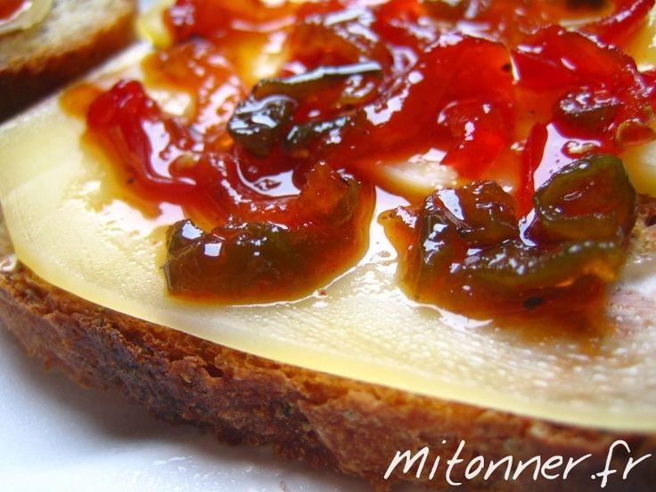 Confiture de poivrons - Mitonner.fr