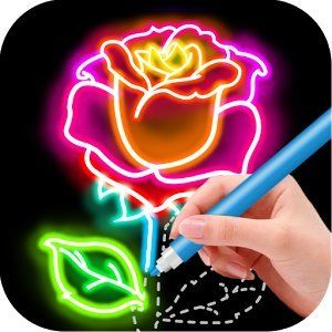 Draw Glow Flower 1.0.9 APK Download Free Android APK