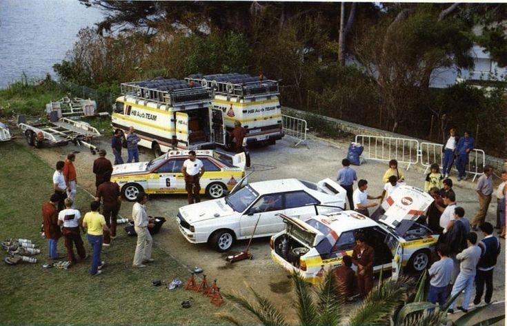 Werkservice Audi (Tour de Corse 84)