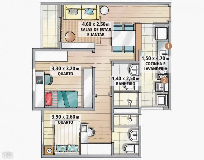 17 best images about amenagement petit appartement on ForAmenagement Appartement 30 M2