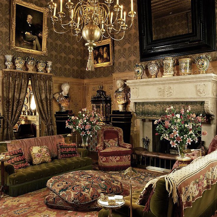 Victorian Study Room: 38 Best Interiors: Traditional Images On Pinterest
