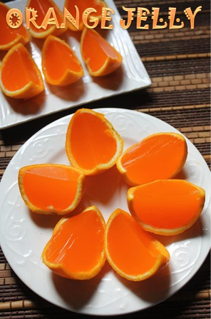Fresh Orange Jelly Recipe -