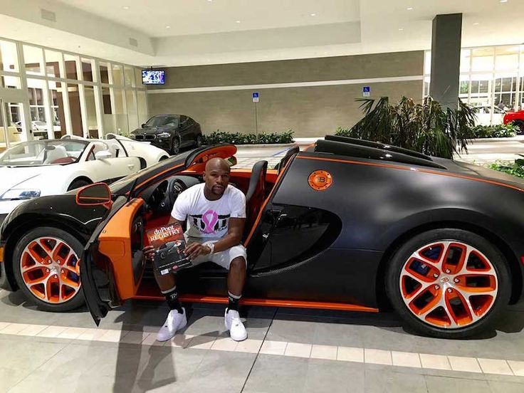 Floyd Mayweather Will Tell You How Much His New Bugatti Cost