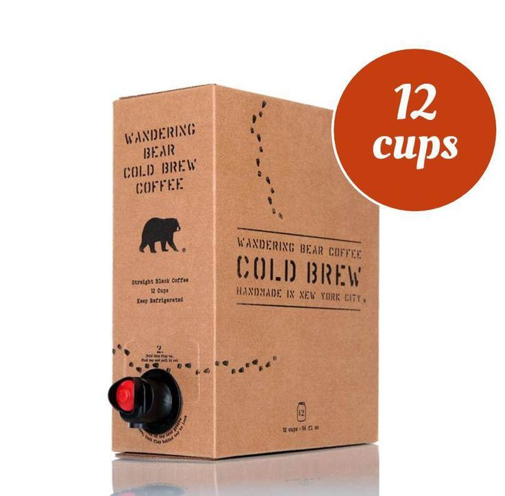 Cold Brew Coffee Subscription - FREE delivery in NYC – Wandering Bear Subscription