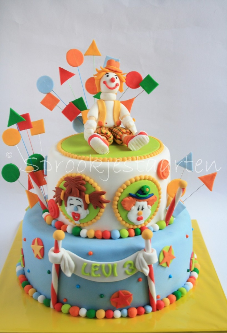 Clown Cake Pictures