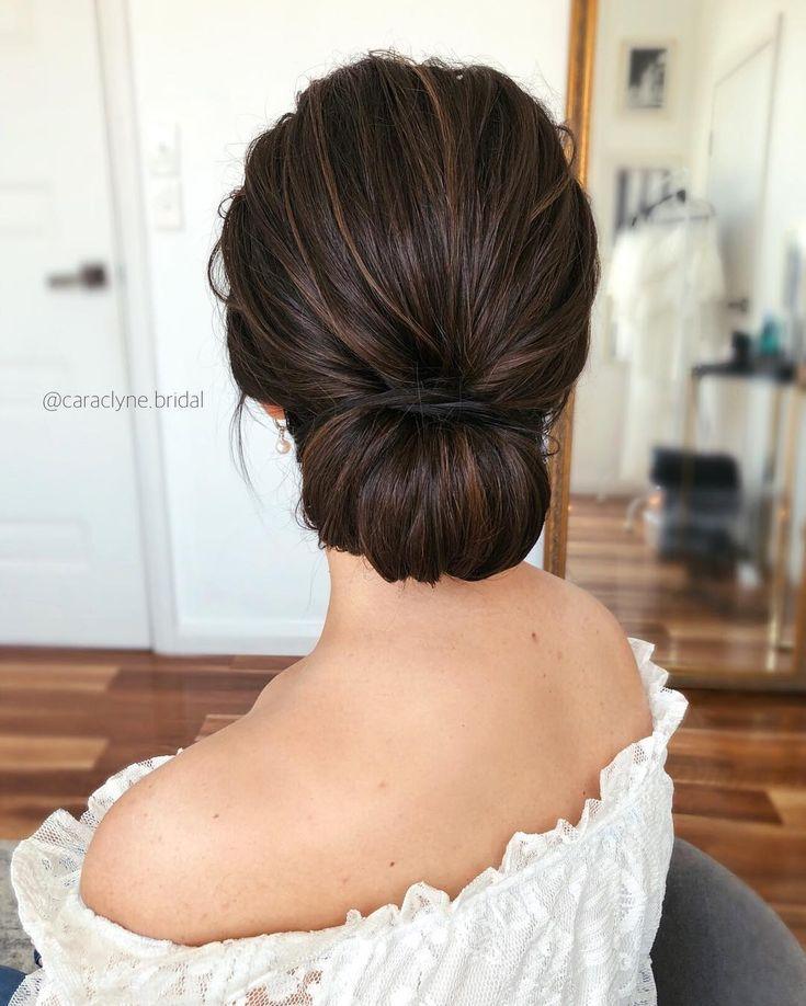 Cara Clyne Longue Coiffures de mariage et updos #weddings #hairstyles #hair #wed…