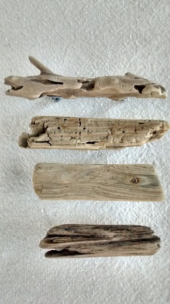 driftwood pulls and knobs natural weathered by saltyriverdogs