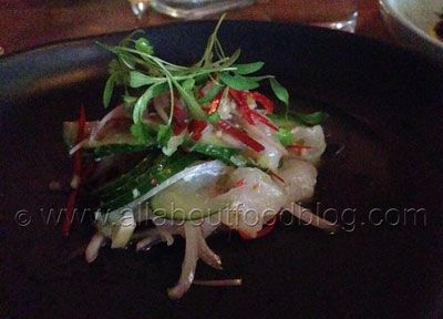 Snapper Ceviche from Three Blue Ducks