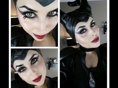 MALEFICENT Makeup Tutorial - Trucco Halloween - YouTube