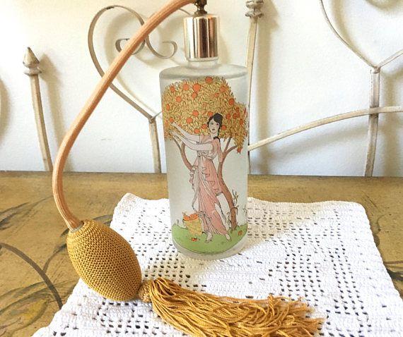 Atomizador de cristal del perfume botella de perfume de la