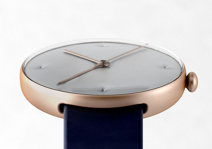 The Chester: Studio Dreimann's watch is inspired by the detailing of an old Chesterfield couch