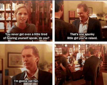 "Seriously, do not test him on this. | 17 Reasons You Wish Giles From ""Buffy"" Was Your Dad"