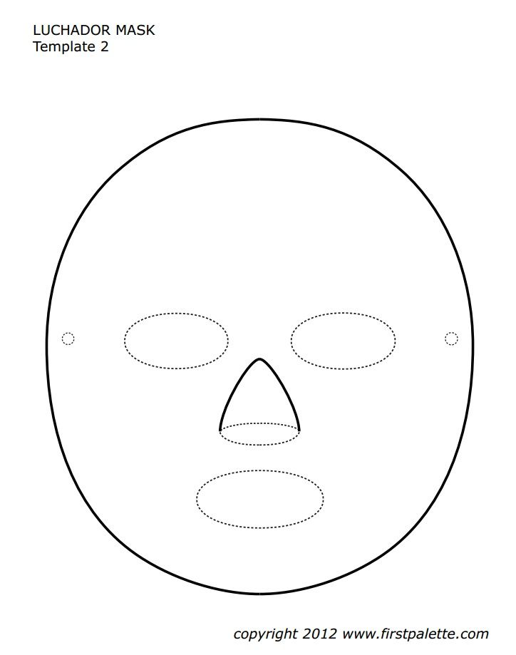 The 25+ best Luchador mask ideas on Pinterest Nacho bar - paper face mask template