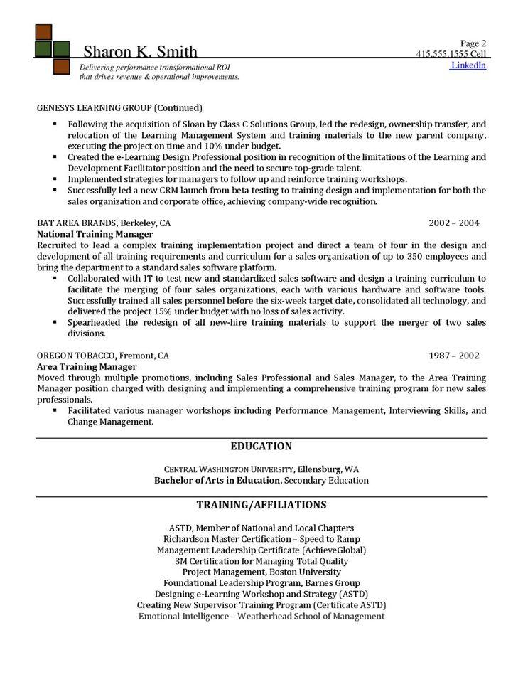 10++ Instructional designer job resume Format
