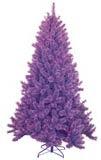 "Gorgeous 7.5' ""Winter Twilight"" Purple Pre-lit Christmas Tree with Reddish-Purple Lights - $345.00 at The Purple Store"