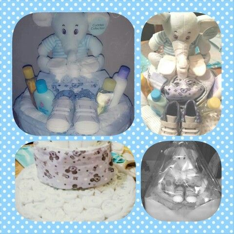 Nappy cake for a 9month old