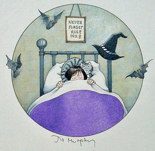 نتيجة بحث الصور عن Jill Murphy – Mildred in bed