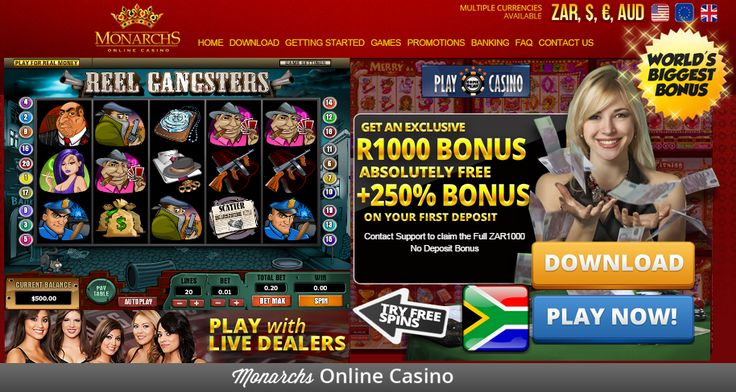 #NewOnlineCasino | #R1000nodeposit  Are you looking for a hot new #onlinecasino?Join #MonarchsCasino today and get swept away with a whopping R1000 no deposit bonus!  http://onlinecasinobonus.co.za/monarchs-online-casino-review.html