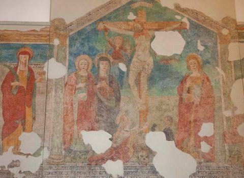 Affreschi Oratorio di San Rocco