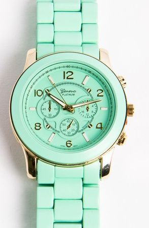 Bella Mint Watch Set