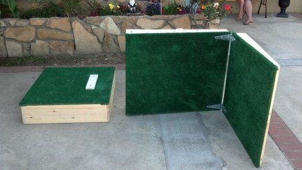 Portable Pitching Mound Woodworking Projects
