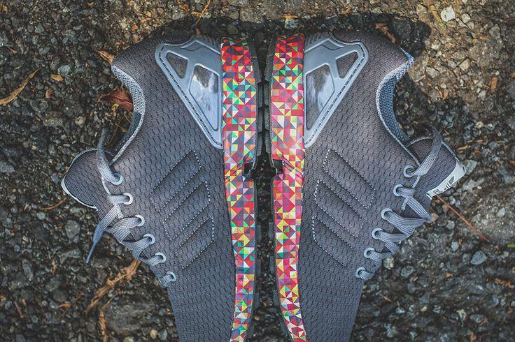 """adidas ZX Flux """"Multicolor Sole"""""""
