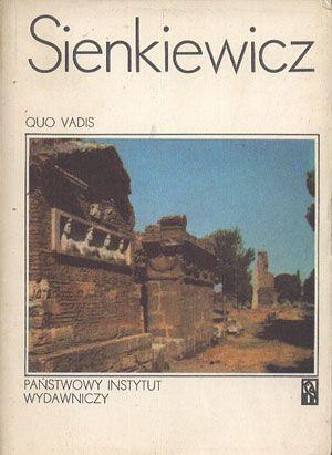Quo vadis, Henryk Sienkiewicz, PIW, 1983, http://www.antykwariat.nepo.pl/quo-vadis-henryk-sienkiewicz-p-13851.html