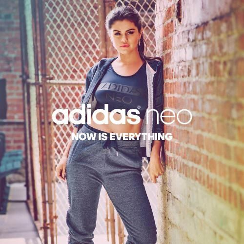 More new promotional pictures of Selena for her 2015 Fall/Winter Adidas NEO Label collection!
