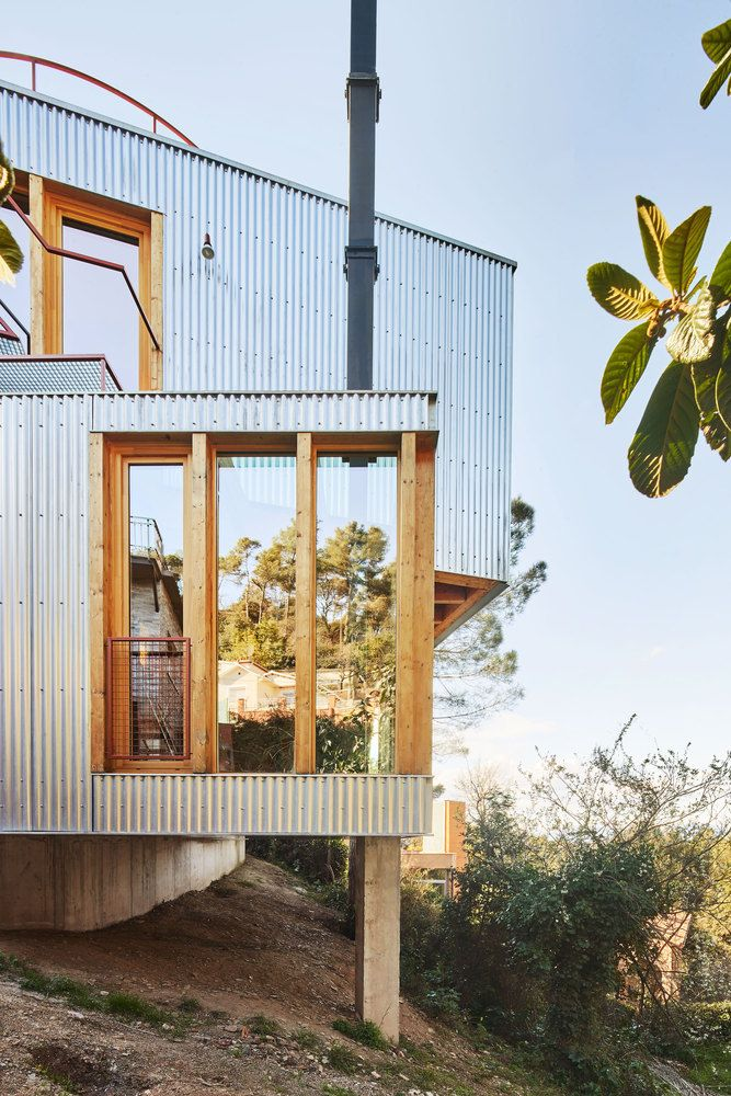 Gallery Of Raw Materials 8 Wooden Houses From Spain 10
