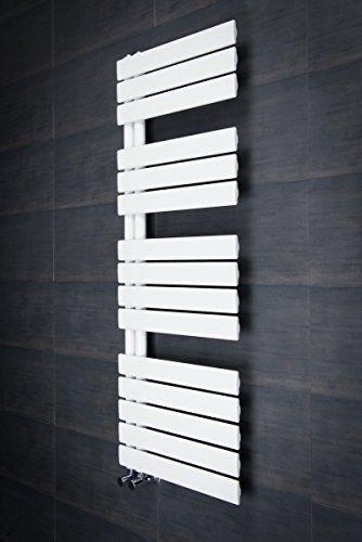 Designer Handtuchheizkörper Badheizkörper 1380x500mm Weiß... 219€