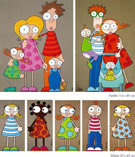 "tableaux2_.jpg (470×547), artiste française ""serie golo"" !!"