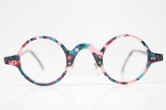 Unique Vintage Glasses Frames 1980's vintage eyewear NOS Deadstock Vintage Eyeglasses