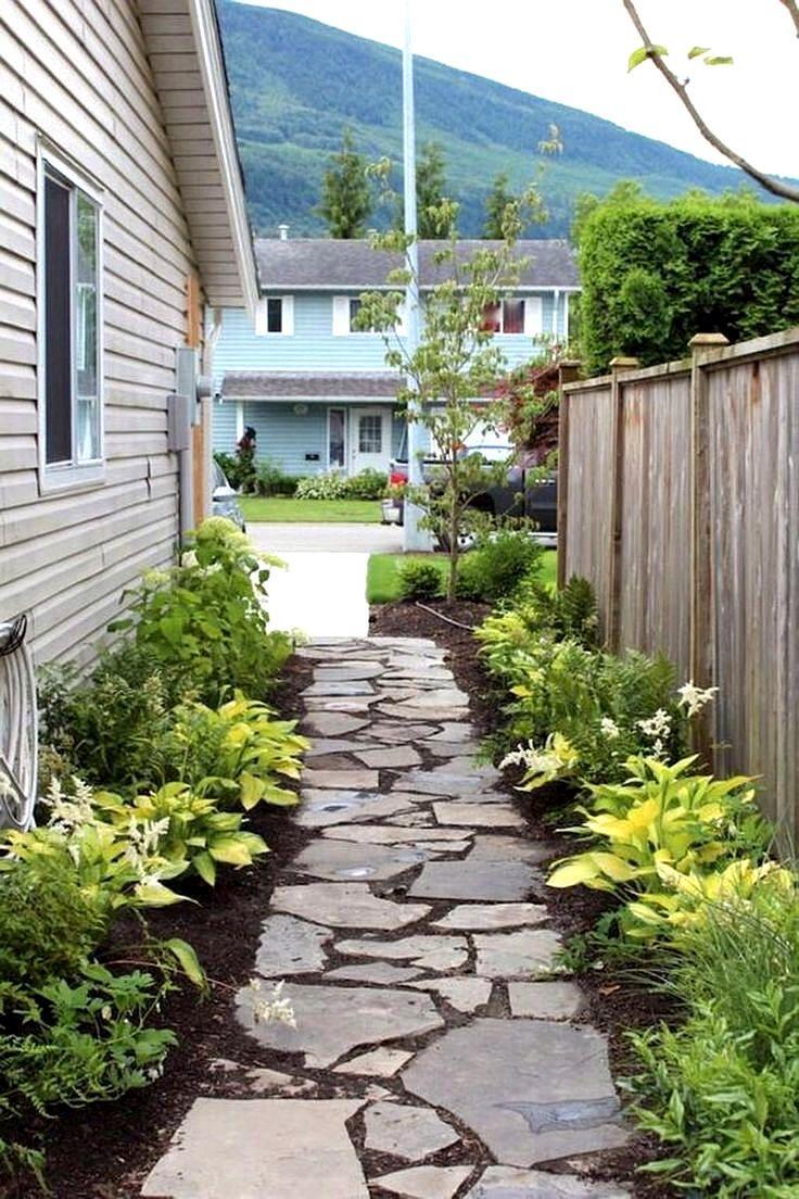 Welwyn Garden City Pathways In 2020 Side Yard Landscaping Yard Landscaping Simple Small Front Yard Landscaping