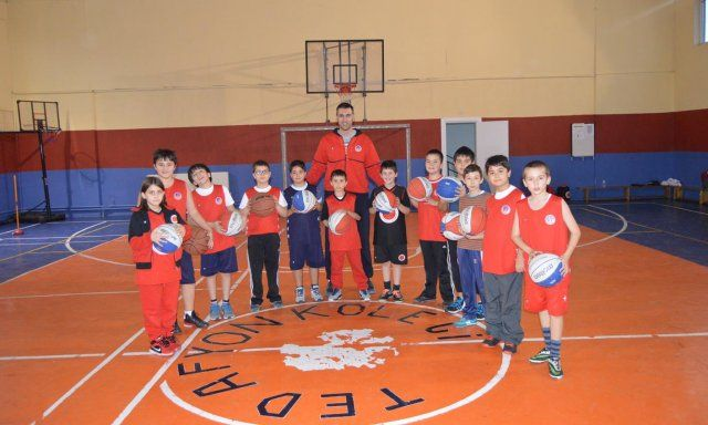 TED Basketbol Okulu faaliyetlerine devam ediyor