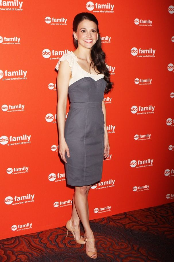 Sutton Foster at the upfront presentation for BUNHEADS